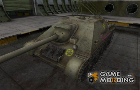 Контурные зоны пробития СУ-122-44 для World of Tanks
