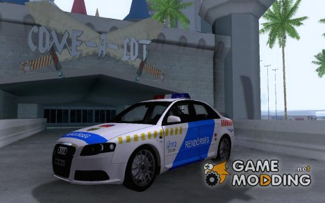 Audi S4 Hungarian PD for GTA San Andreas