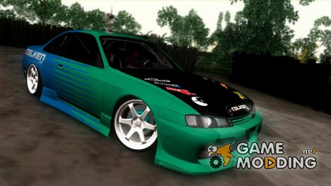 Nissan Silvia S14 Falken для GTA San Andreas