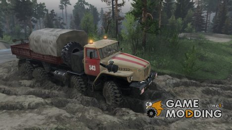 Урал 6614 for Spintires 2014