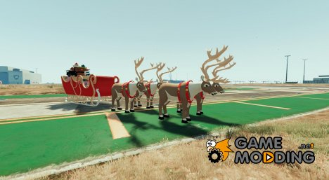 Santa Claus Sled - Merry Christmas для GTA 5