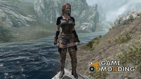 DreamBurrows Patchwork Maiden Armor for TES V Skyrim