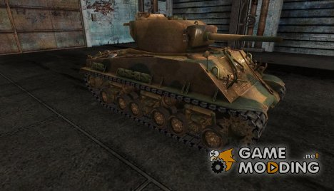 M4A3E8 Sherman daven for World of Tanks