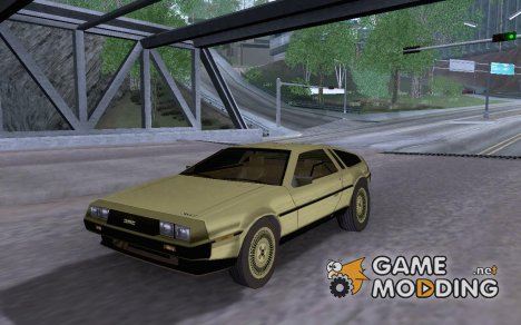 1981 Gold DeLorean DMC-12 for GTA San Andreas