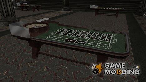HD столы для казино для GTA San Andreas