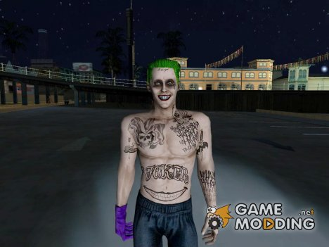Joker (Suicide Squad) v2 для GTA San Andreas