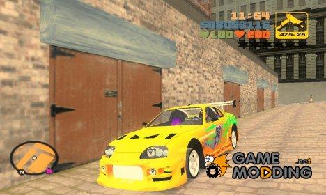 Toyota Supra v1.4 для GTA 3