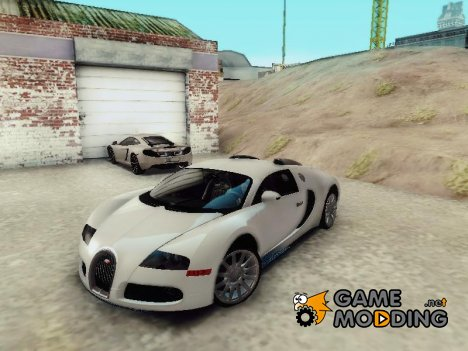Bugatti Veyron 2009 for GTA San Andreas