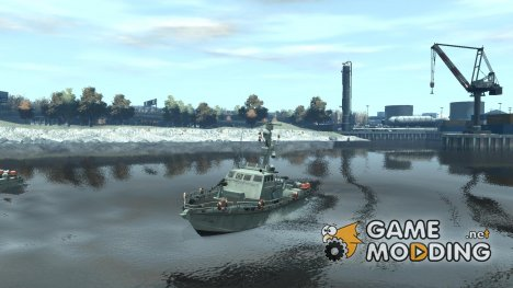 Russian PT Boat for GTA 4