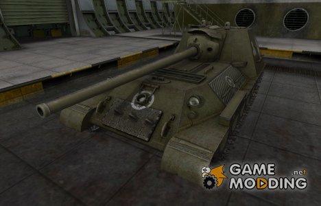 Зоны пробития контурные для СУ-100М1 для World of Tanks