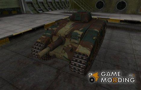 Французкий новый скин для ARL V39 для World of Tanks
