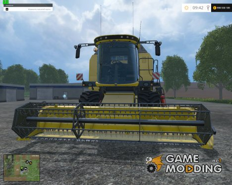 New Holland TC590 for Farming Simulator 2015