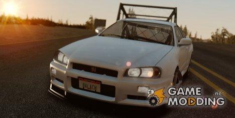 Nissan Skyline GTR SpecVII 2002 Tunable for GTA San Andreas