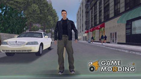 Клод из GTA SA для GTA 3