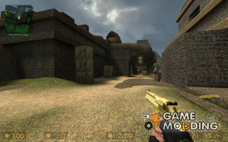 [CSS] Golden D1337 (standard) Deagle для Counter-Strike Source