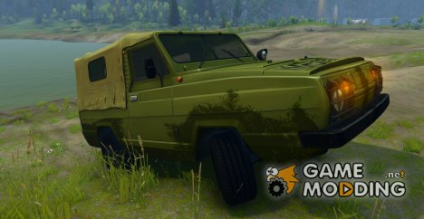 """УАЗ-3907 """"Ягуар"""" for Spintires 2014"""