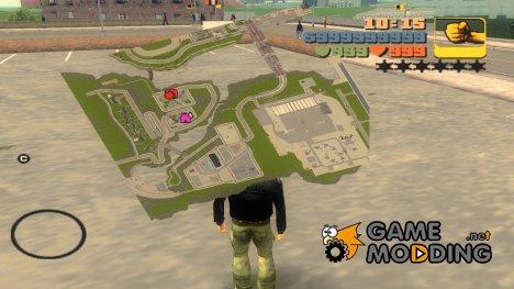 Detailed Radar 3D для GTA 3