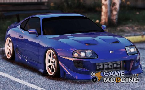 Toyota Supra JZA80 v1.4 for GTA 5