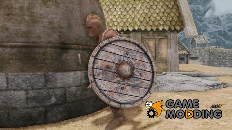 Nordic Round Shield для TES V Skyrim