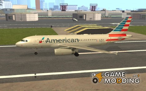 Airbus A319 American Airlines for GTA San Andreas