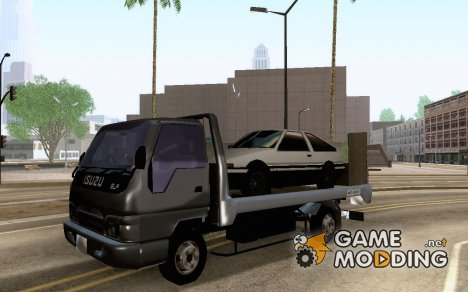 Isuzu Elf Safety Loader Truck for GTA San Andreas
