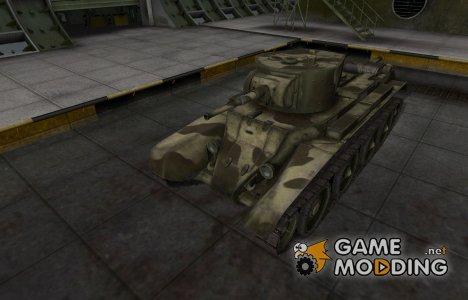 Пустынный скин для БТ-7 for World of Tanks