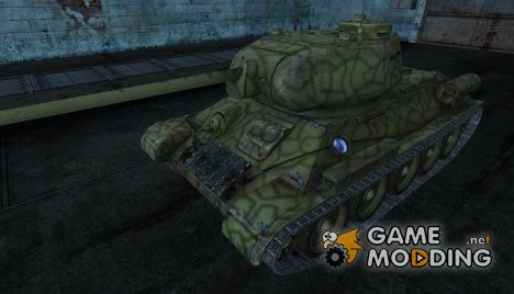 T-34-85 YnepTbli для World of Tanks