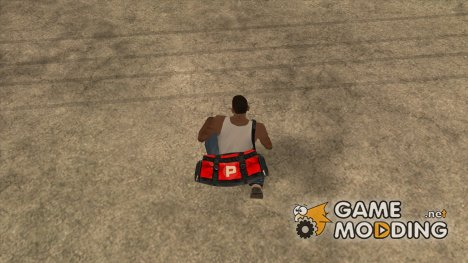Сумка Pastent for GTA San Andreas
