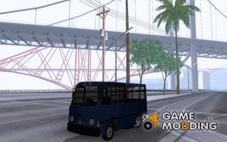 Otokar Magirus для GTA San Andreas
