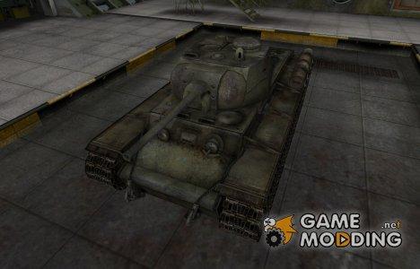 Исторический камуфляж КВ-1С для World of Tanks