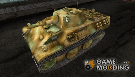 шкурка для VK1602 Leopard № 50 for World of Tanks