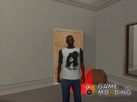 T-Shirt Slash (Guns N Roses) для GTA San Andreas