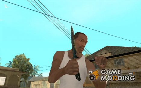 Нож из Counter-Strike для GTA San Andreas