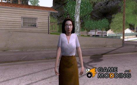 Сара из Mafia для GTA San Andreas