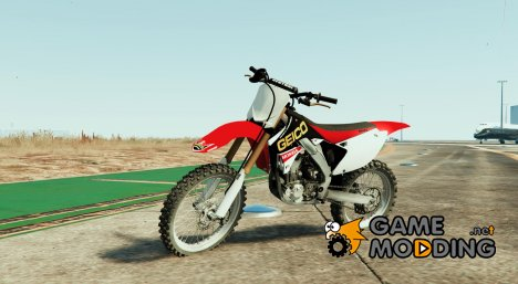 Honda CRF Geico graphic kit for the kx450f by RKDM for GTA 5