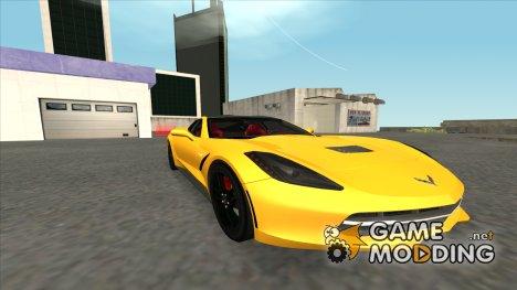 Chevrolet Corvette C7 for GTA San Andreas