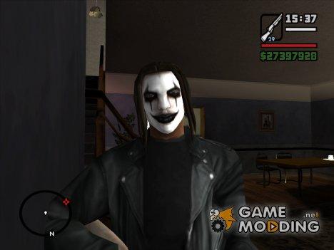 Макияж Ворона for GTA San Andreas