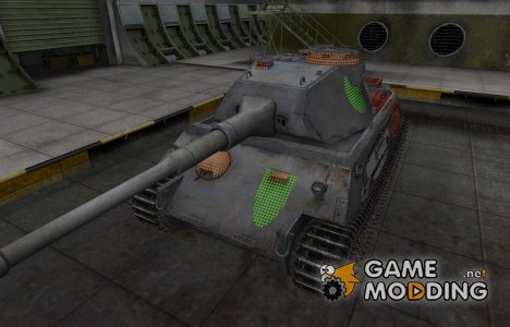 Зона пробития VK 45.02 (P) Ausf. A for World of Tanks