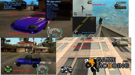 Samp pack для GTA San Andreas