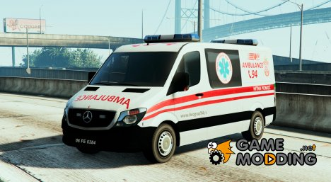 Serbian Ambulance for GTA 5
