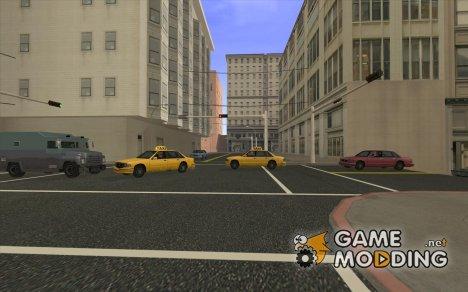 Новые дороги Сан Фиеро для GTA San Andreas