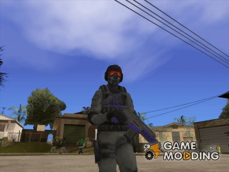 Skin HD Umbrella Soldier v1 для GTA San Andreas