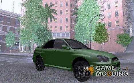 Subaru Impreza WRX STI 2005 for GTA San Andreas