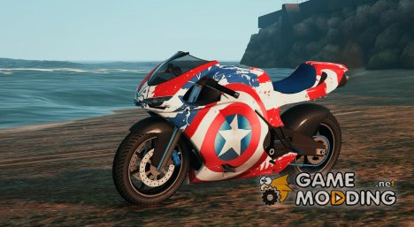 Captain America Pegassi Bati for GTA 5