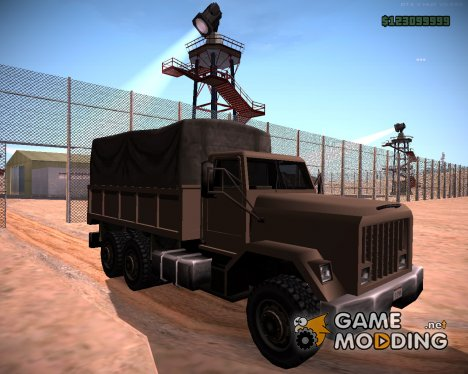 Barracks Fixed для GTA San Andreas