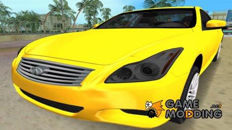 Infiniti G37 for GTA Vice City