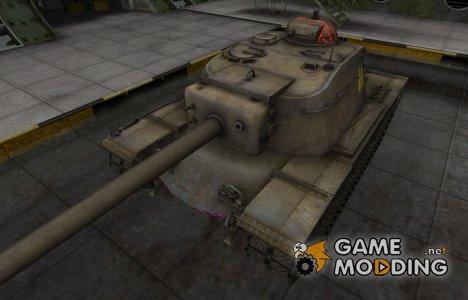 Контурные зоны пробития T110E4 для World of Tanks