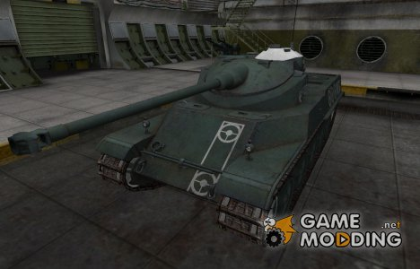 Зоны пробития контурные для AMX 50 100 for World of Tanks