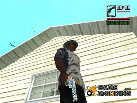 Магнум из Rekoil камуфляж №3 для GTA San Andreas