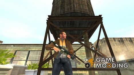 GTA V Carbine rifle	v.2 для GTA 4